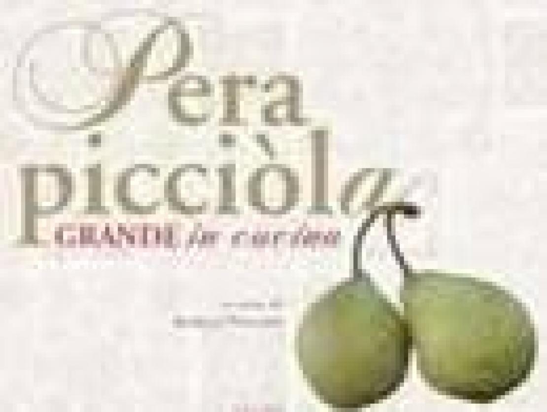 Il felice caso della Pera Picciòla