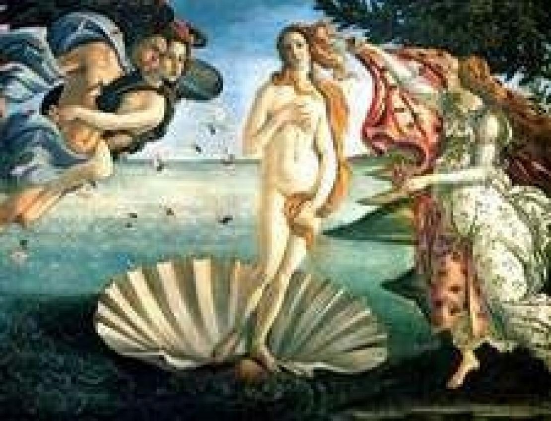 Il profumo della Venere del Botticelli evoca il Mediterraneo e i campi della Toscana