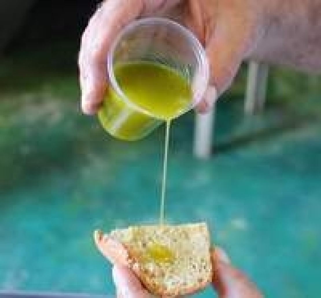 La tecnica di assaggio dell'olio d'oliva, laddove primeggiano gli italiani