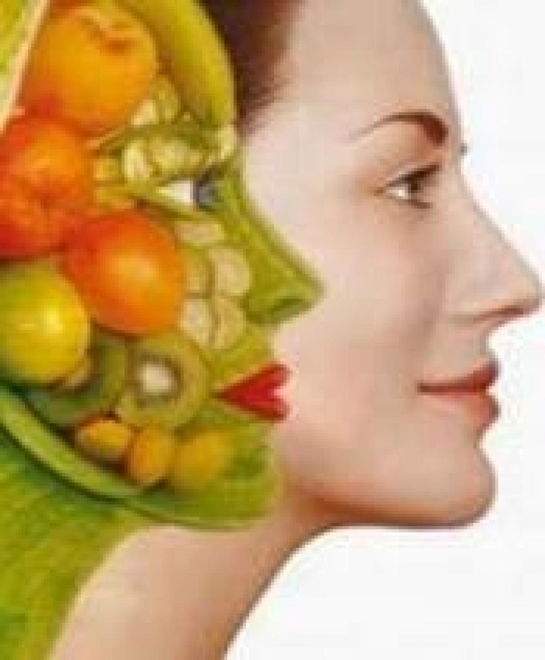 La bellezza non si conquista dal chirurgo ma con una dieta sana