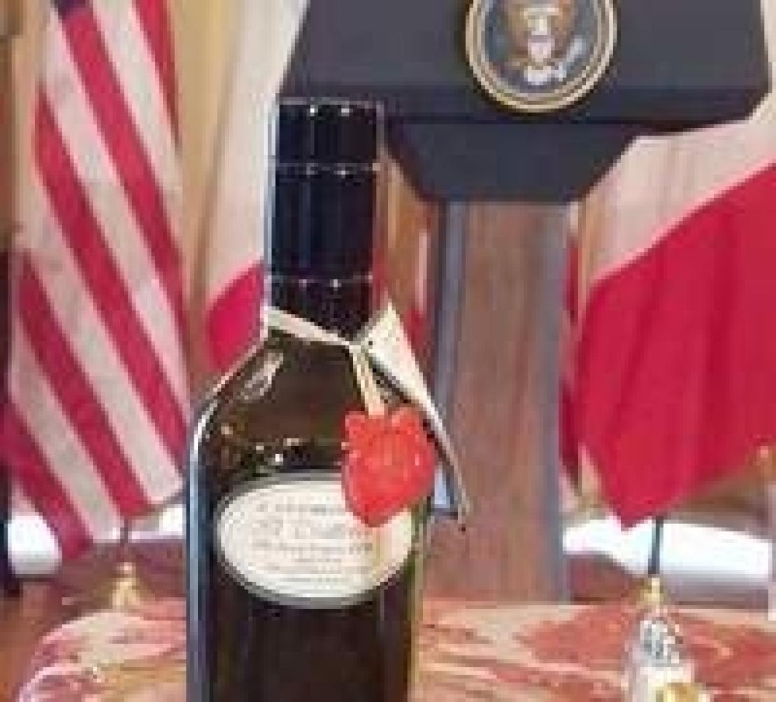 Parla l'olio extra vergine di oliva finito sul tavolo di Obama