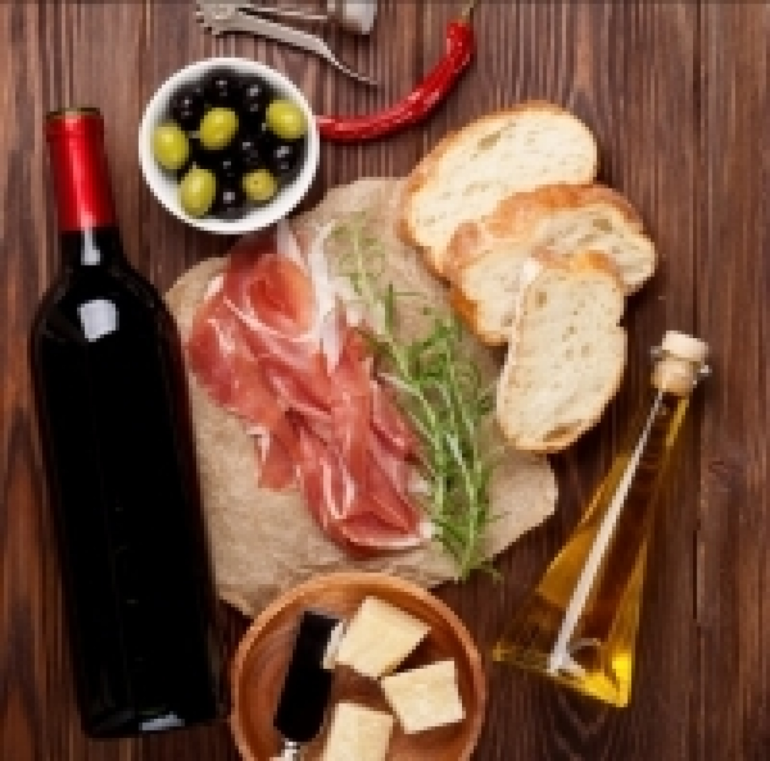 Un tocco d'italianità, perchè vino e olio non devono farsi la guerra