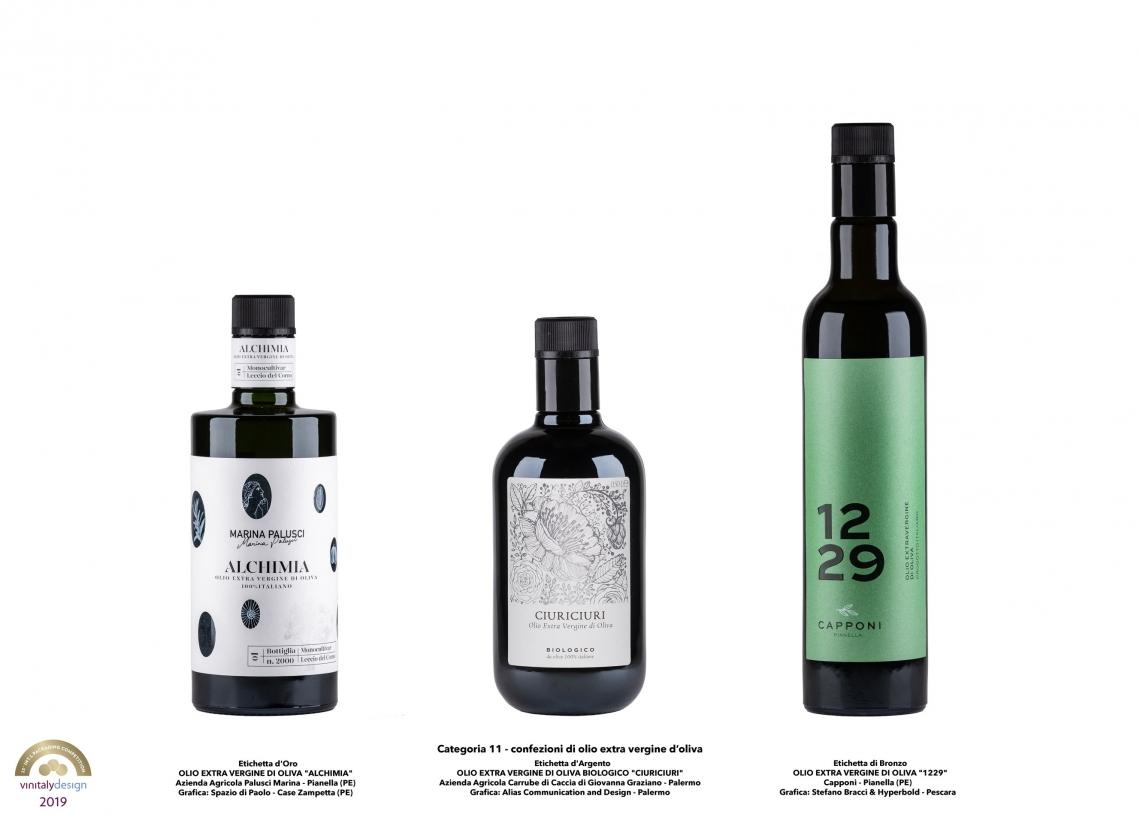 Un nuovo stile per l'immagine di vino, olio e birra nazionali