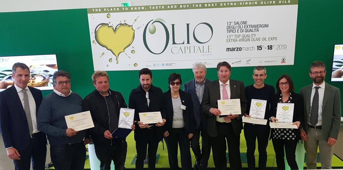 La Puglia domina nel concorso Olio Capitale