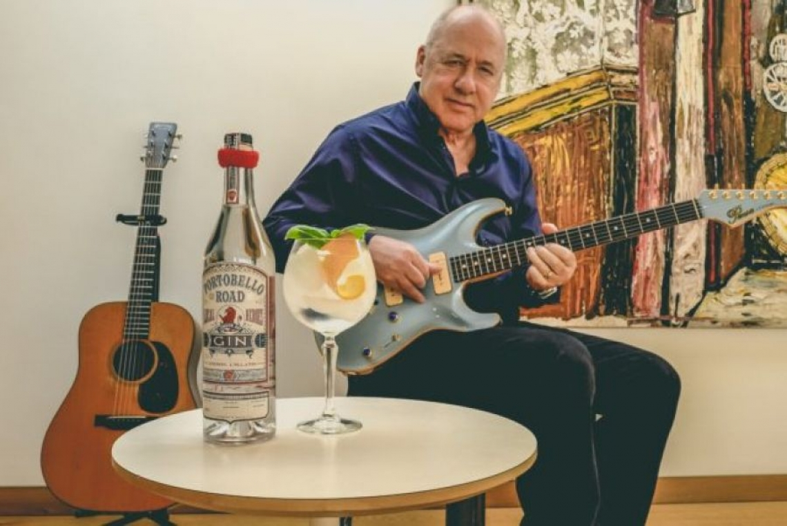 Mark  Knopfler, leader dei Dire Straits, firma un gin all'olio d'oliva