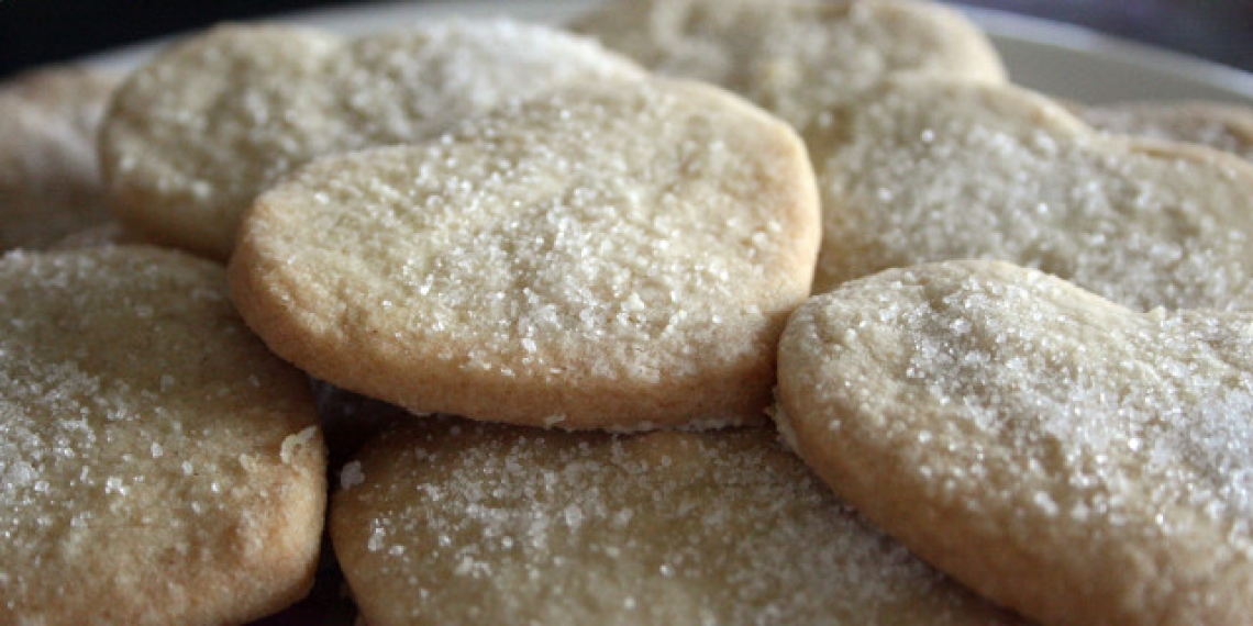 Biscotti di pasta frolla con olio extra vergine d'oliva, più stabili e più salutari