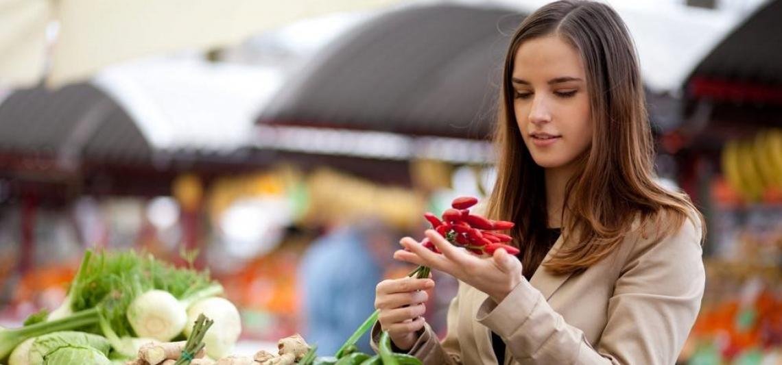 Il consumatore disposto a pagare di più per cibo fresco e locale