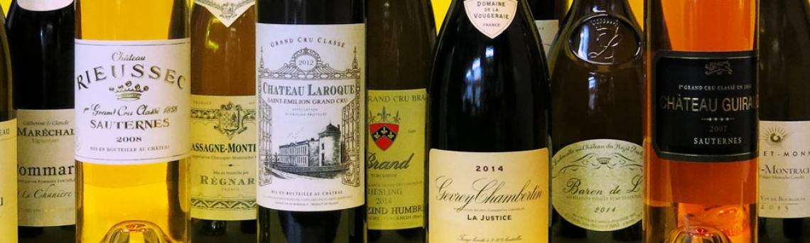 Buone performance per le vendite di vini francesi in Italia