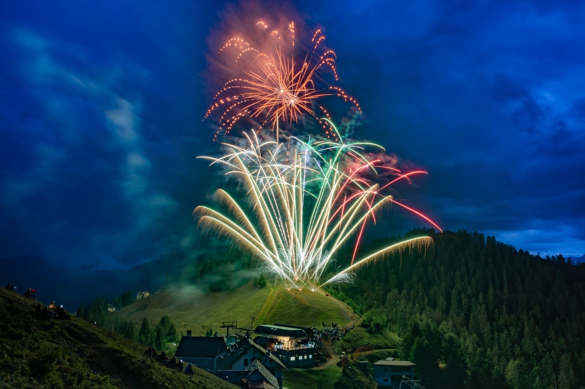 Vette d'artificio 2019 al via dalla Piana di Vigezzo