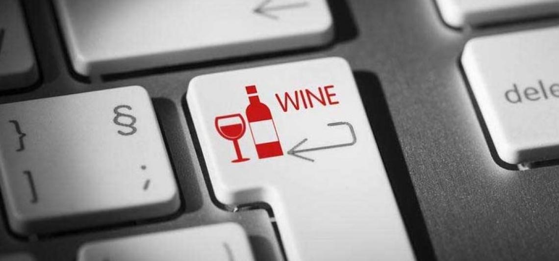 Boom delle vendite on line di vino e spumanti in Italia