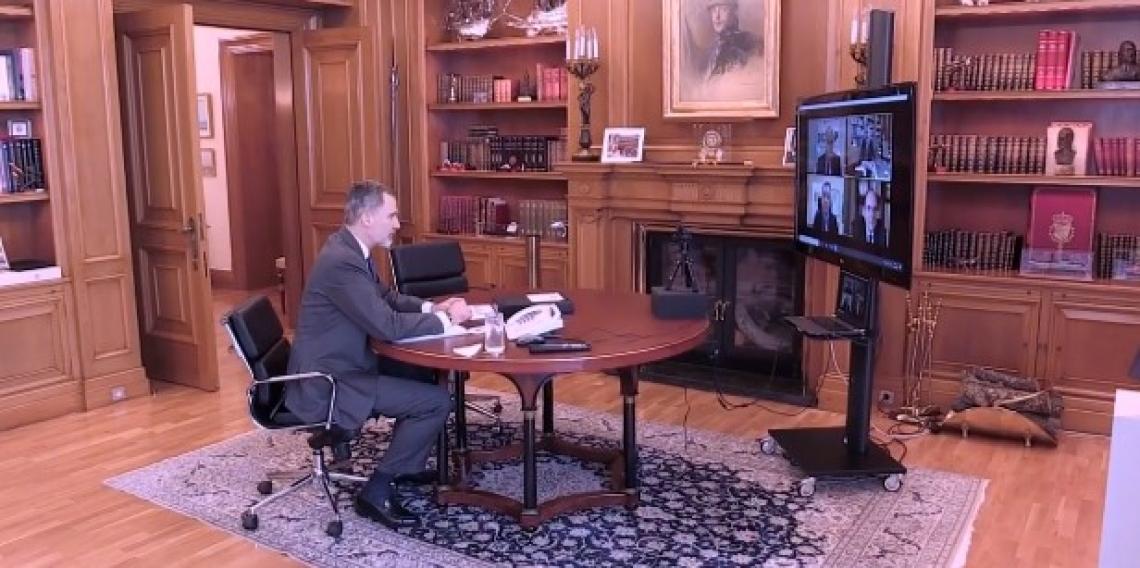 Re Felipe VI rassicura il mondo olivicolo-oleario spagnolo
