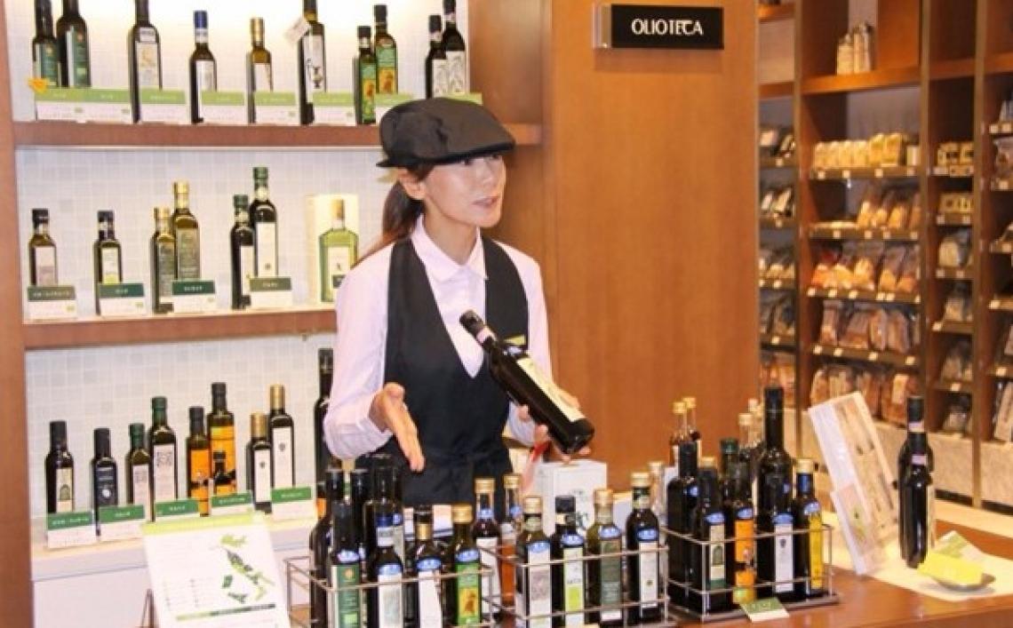 Salgono le importazioni di olio d'oliva in Giappone