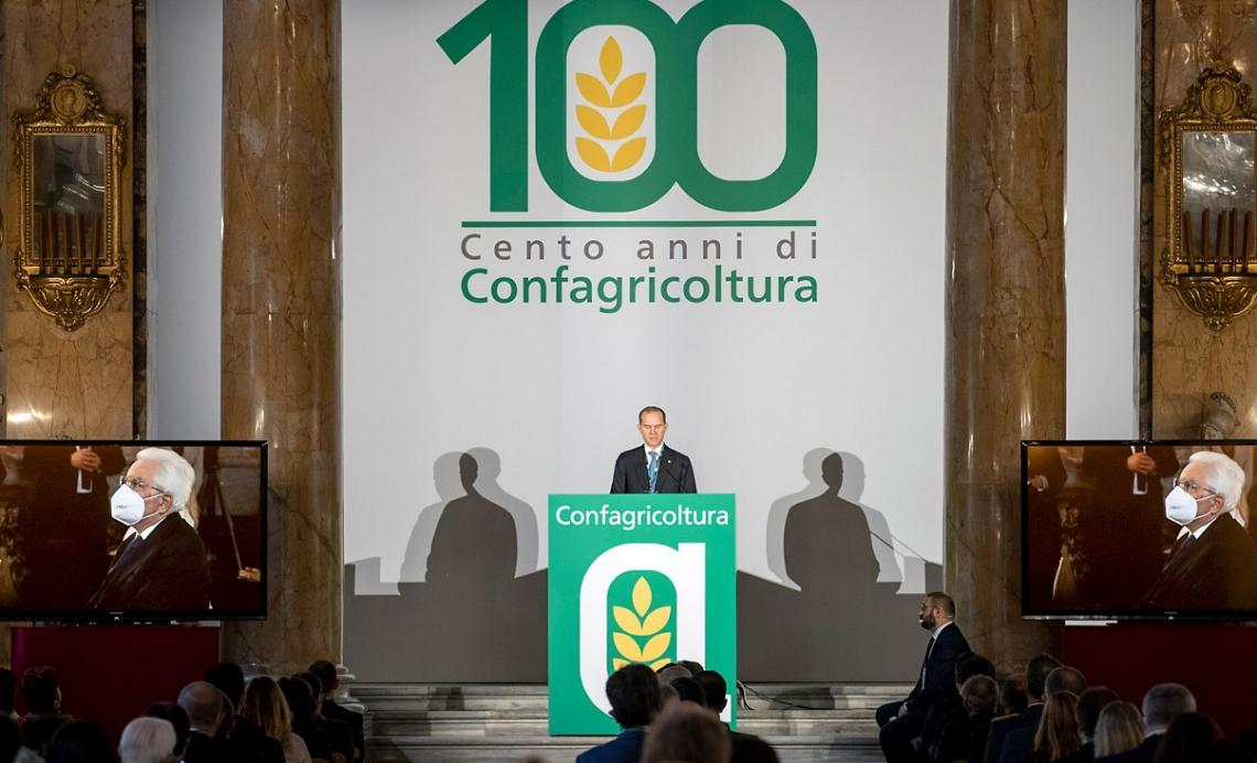 Confagricoltura celebra cent'anni di storia