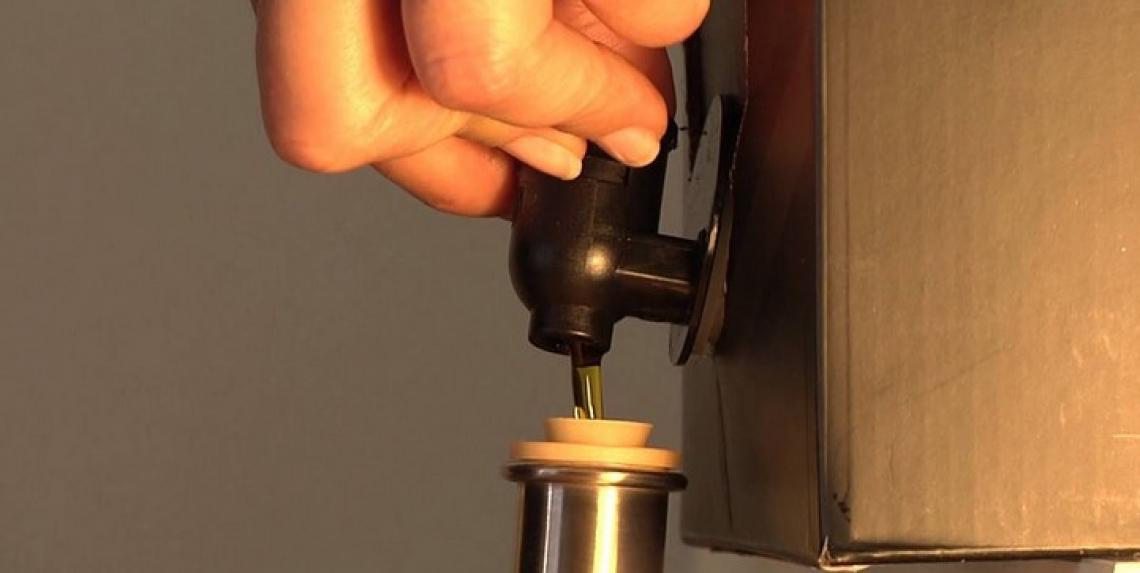 Il bag in box è il futuro per il confezionamento dell'olio extra vergine d'oliva