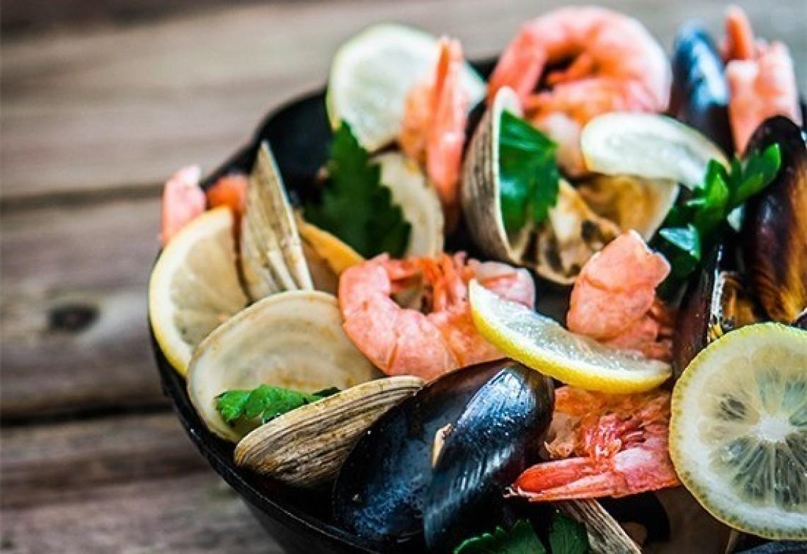 Crostacei e molluschi sono ottimi nutrienti se freschi e tracciati
