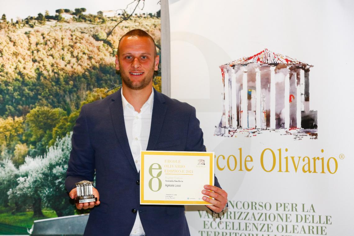 Lorenzo Locci è il giovane Ambasciatore dell'Olio di qualità dell'Umbria
