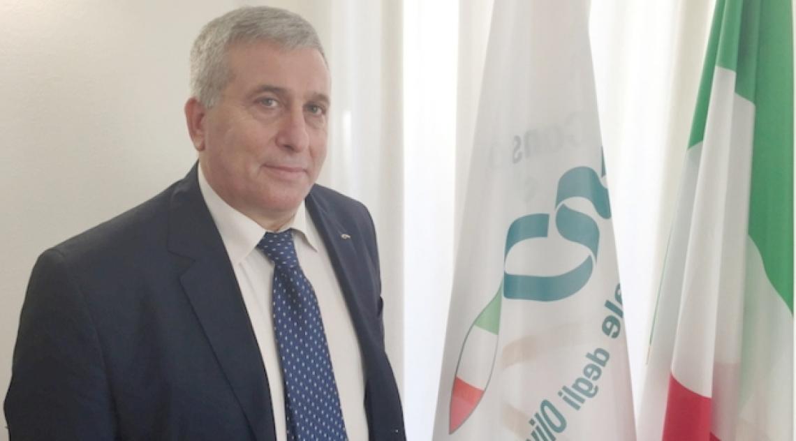Gennaro Sicolo torna alla guida di Italia Olivicola