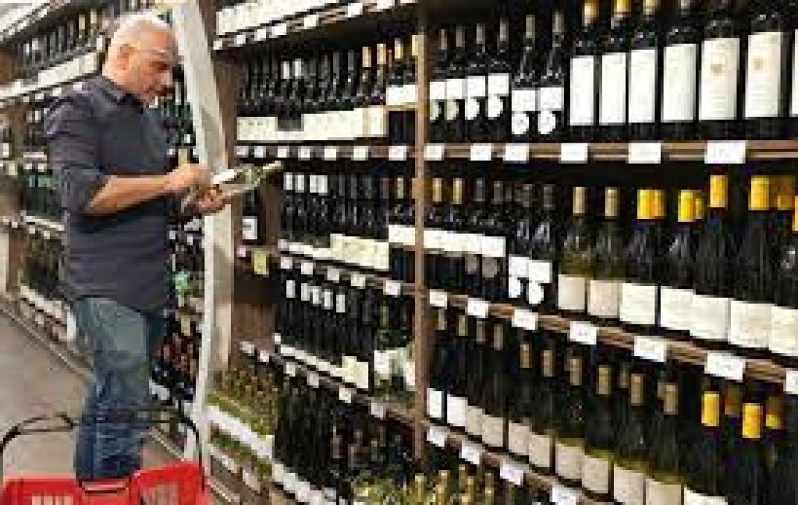 Diminuiscono le vendite di vino nella Grande Distribuzione