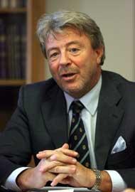 Il presidente Antonio Paoletti