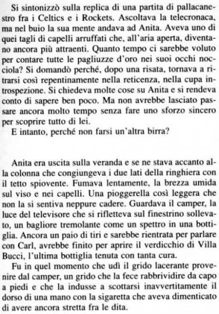 La pagina tratta dal libro di John Farris in cui si cita il Verdicchio di Villa Bucci