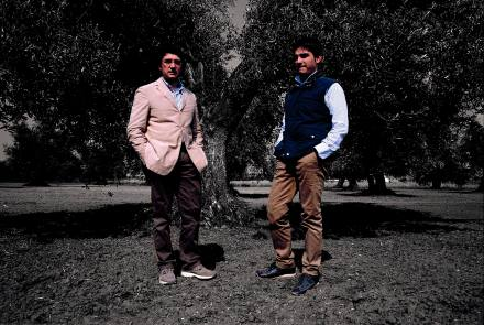 Giuseppe (a sinistra) e Luca Esposito