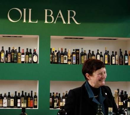 Gabriella Stansfield all'Oil Bar di Olio Capitale a Trieste
