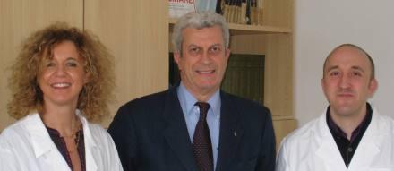 Da sinistra: Tullia Gallina Toschi, Giovanni Lercker, Lorenzo Cerretani