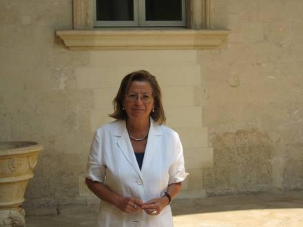 Il presidente della Casa dell'Olivo Anna Trono