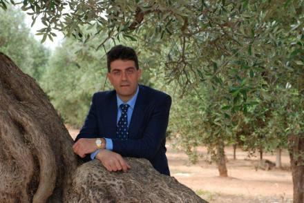 Il direttore della Casa dell'Olivo-Oleoteca d'Italia Francesco Caricato
