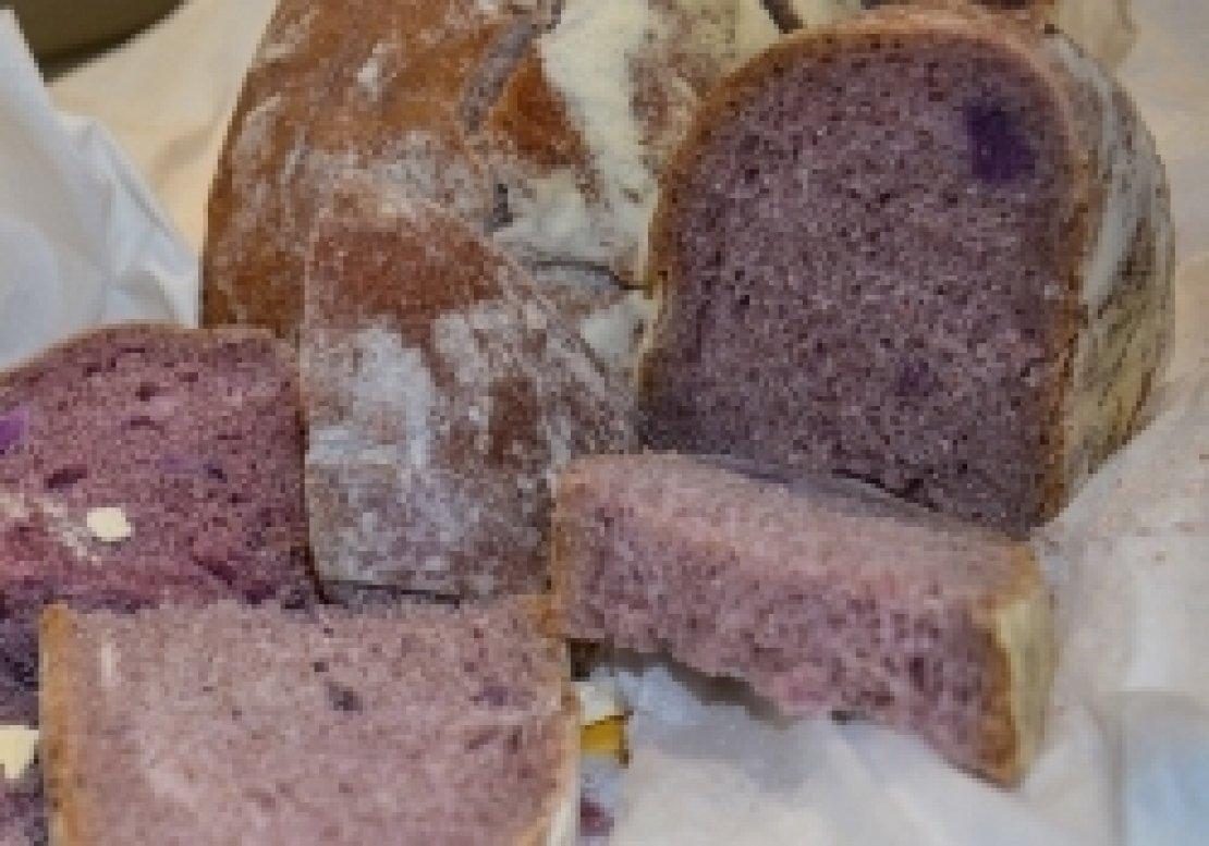 Il pane viola, piccola rivoluzione gastronomica che fa bene alla salute