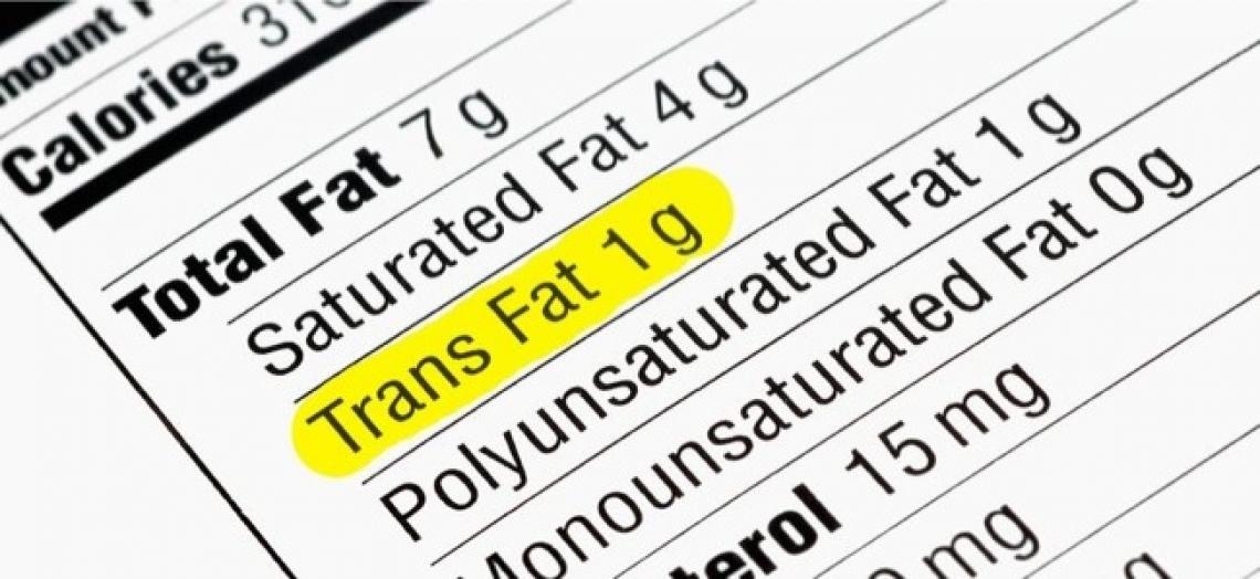 L'Unione europea taglia i grassi trans dagli alimenti