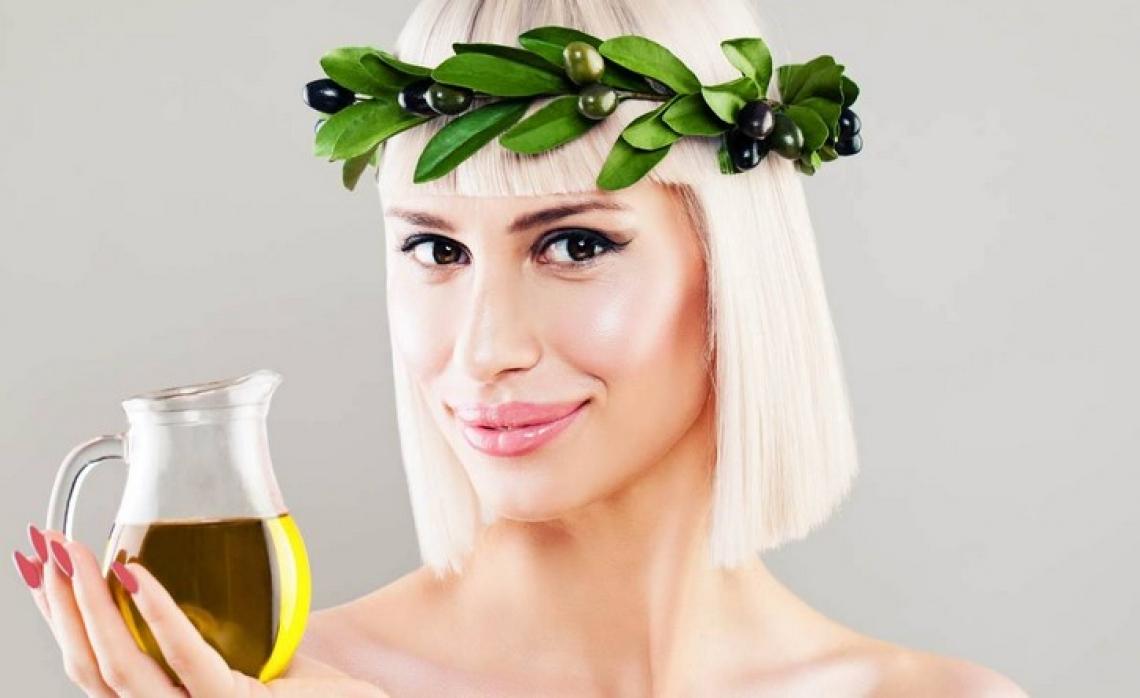 L'olio extra vergine d'oliva italiano a denominazione d'origine è rosa