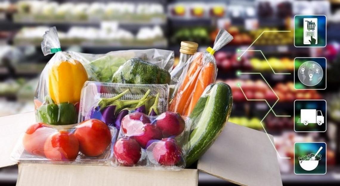 Agli italiani la spesa alimentare piace sempre più on line