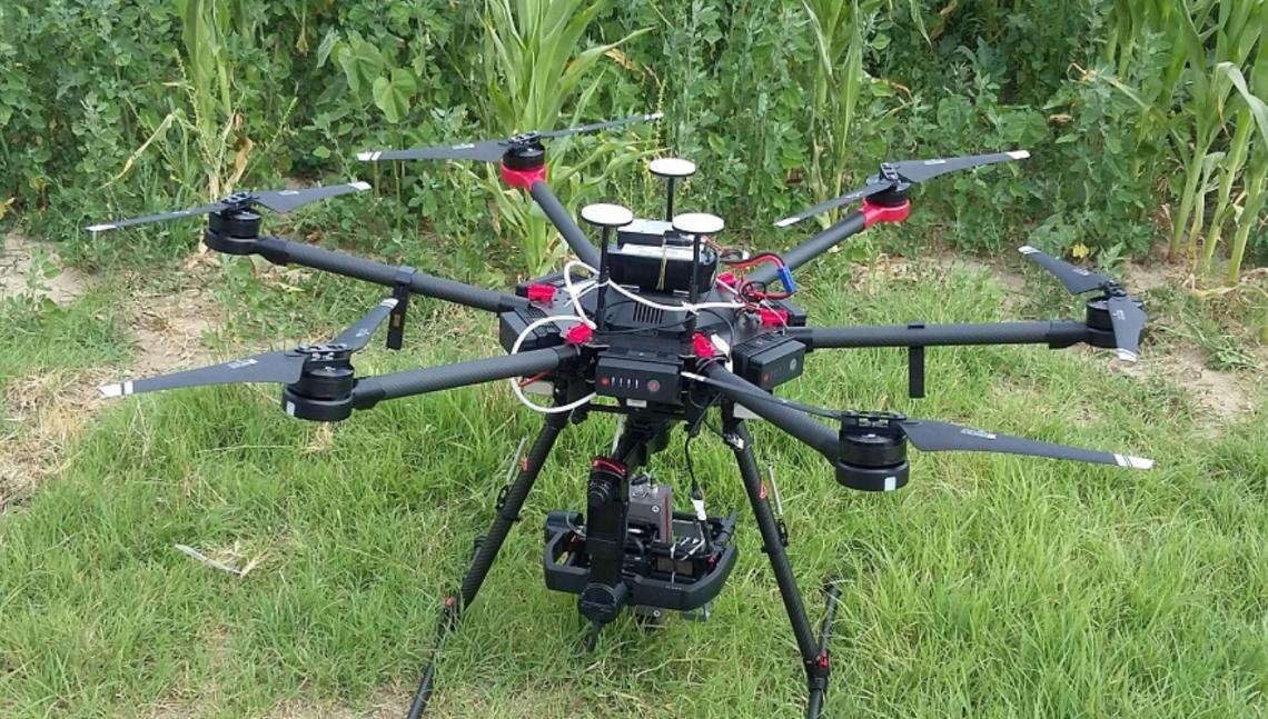 I droni per la diagnosi precoce di culture danneggiate da infestazioni o malattie