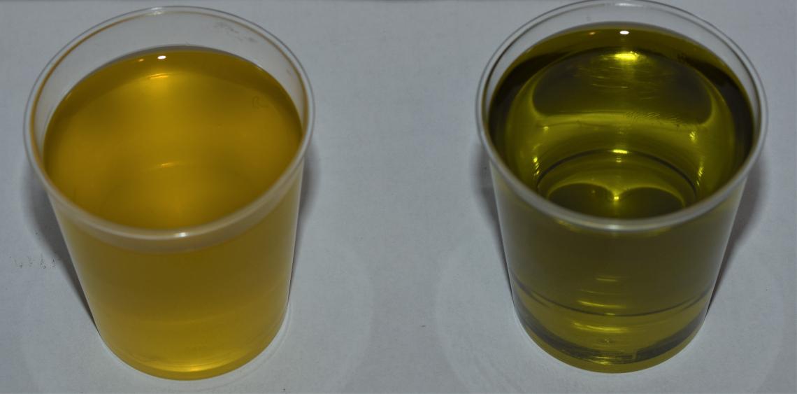 Un filtro per l'olio extra vergine di oliva di eccellenza capace di filtrare in profondità