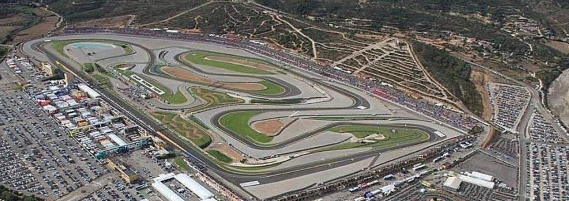Al GP di Valencia l'immagine iconica di un oliveto nel circuito