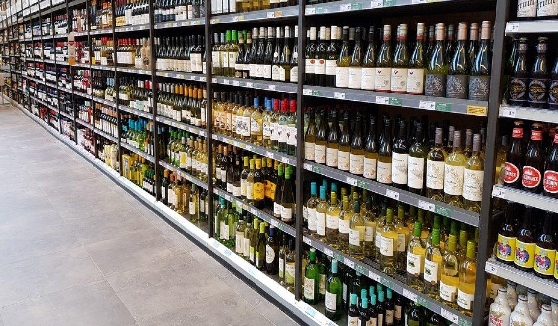 Aumentano le vendite di vino nella Grande Distribuzione