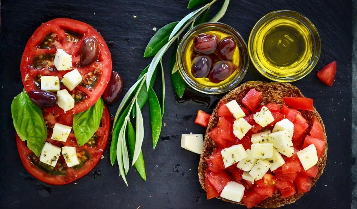 La dieta mediterranea riduce lo stress nervoso e aiuta a vivere meglio