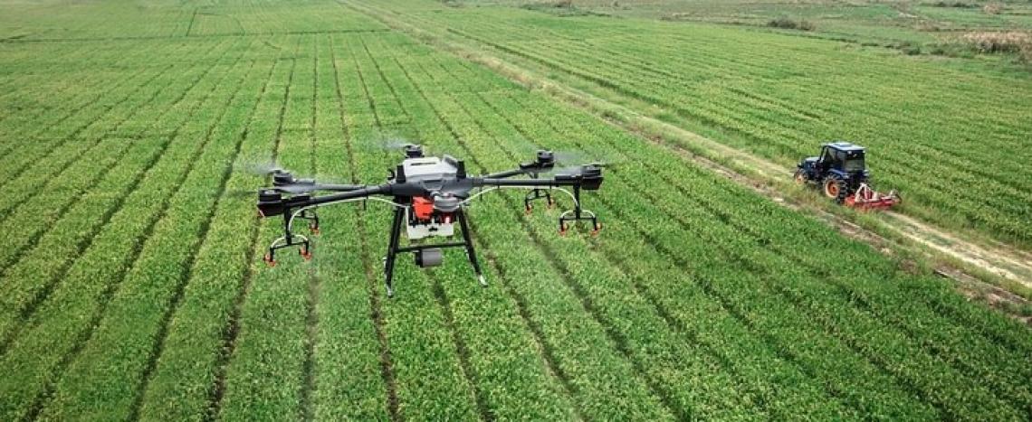 Una macchina agricola nuova inventata dagli studenti degli Istituti di agraria