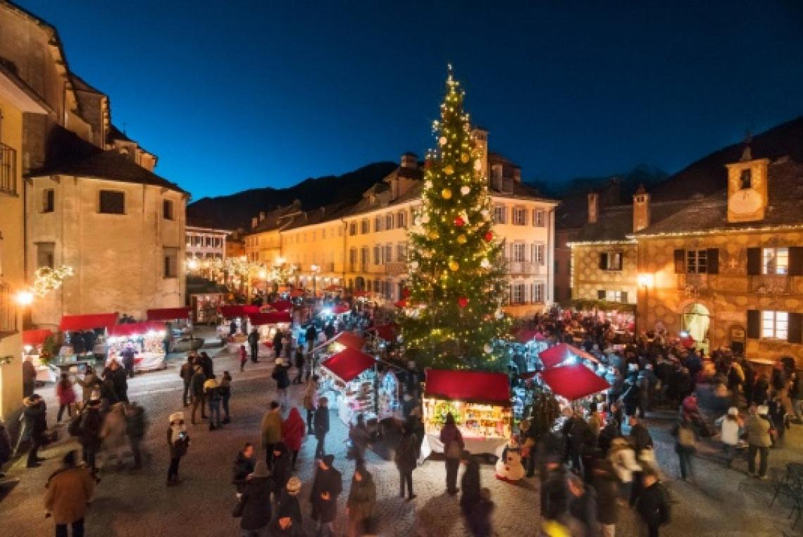 Tornano i Mercatini di Natale nel cuore delle Alpi: a Santa Maria Maggiore