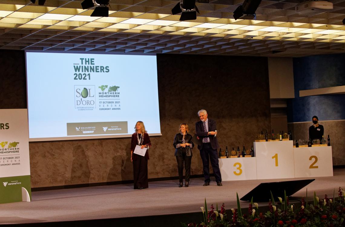 Il backstage del Sol d'Oro e  le premiazioni a Verona
