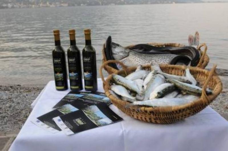 L'olio del Garda e il pesce di lago - foto di Claudio Lazzarini