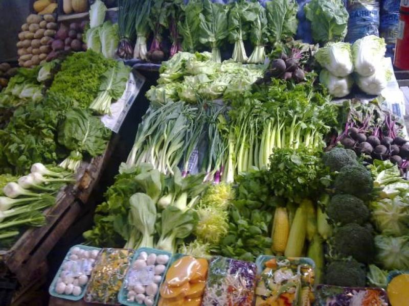 Buenos Aires. Trionfo di verdure al mercato. Foto di Luigi Caricato