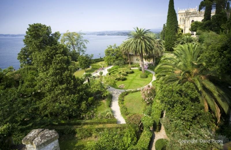 Un giardino all'italiana nel mezzo di un'isola