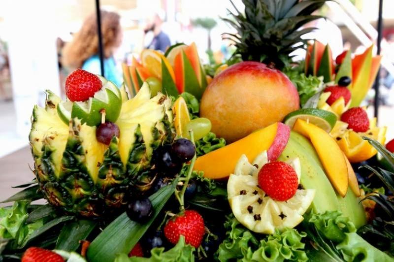 Trionfo di frutta a Expo