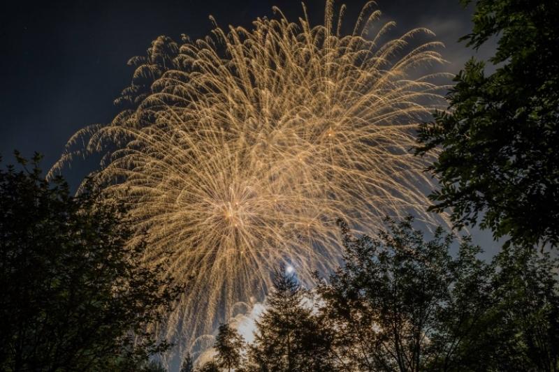 Vette d'artificio, quando la natura è lo sfondo dello spettacolo