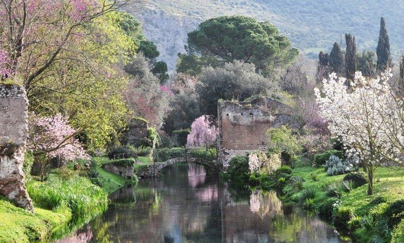 Il Giardino di Ninfa a emissioni zero