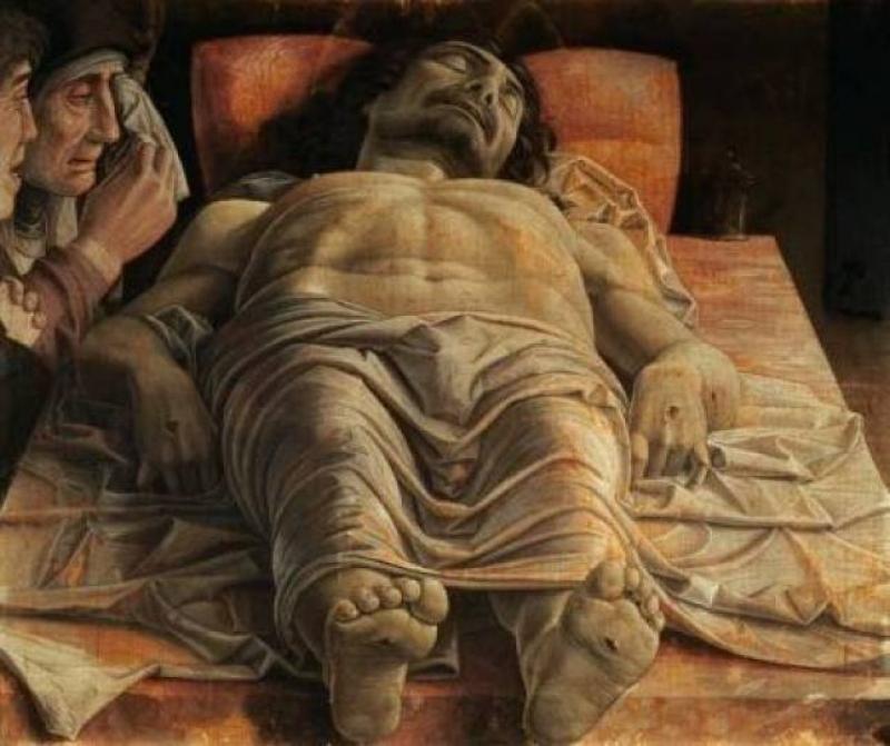 Il Cristo del Mantegna